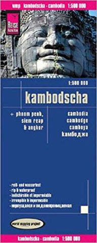 Buy map Cambodia by Reise Know-How Verlag