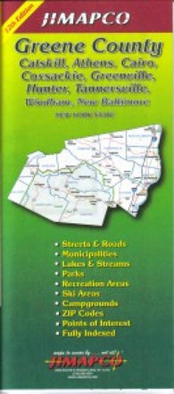 Buy map Greene County, New York by Jimapco