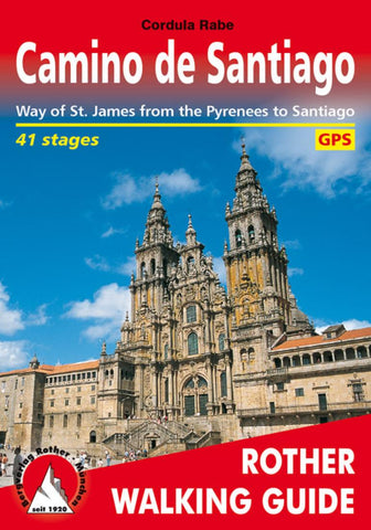 Buy map Santiago de Compostela, Rother Walking Guide by Rother Walking Guide, Bergverlag Rudolf Rother