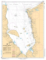 Buy map Baie James/James Bay by Canadian Hydrographic Service