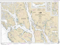 Buy map Stephens Passage to Cross Sound, including Lynn Canal (17300-32) by NOAA