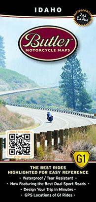 Buy map Idaho G1 Map by Butler Motorcycle Maps