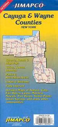 Buy map Cayuga and Wayne Counties, New York by Jimapco