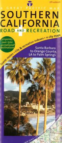 Buy map California, Southern, Road and Recreation by Great Pacific Recreation & Travel Maps