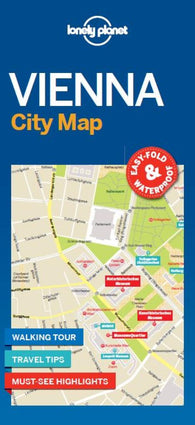 Buy map Vienna City Map by Lonely Planet Publications