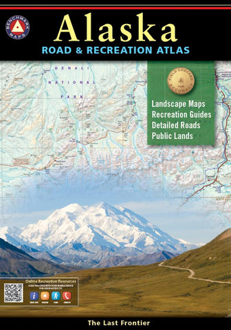 Buy map Alaska Road and Recreation Atlas by Benchmark Maps