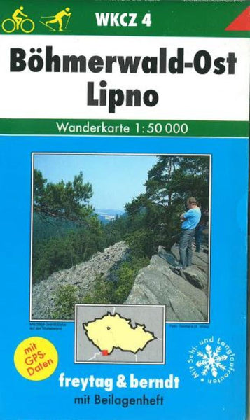 Buy map Bohmerwald East + Lipno, WKCZ 4 by Freytag-Berndt und Artaria