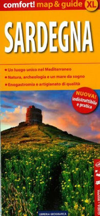 Buy map Sardegna, Laminated Map and Guide by Libreria Geografica