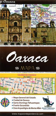 Buy map Oaxaca, Mexico, State and Major Cities Map by Ediciones Independencia