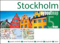 Buy map Stockholm, Sweden, PopOut Map by PopOut Products