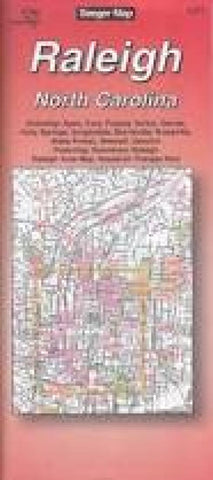 Buy map Raleigh, North Carolina by The Seeger Map Company Inc.