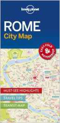 Buy map Rome City Map by Lonely Planet Publications