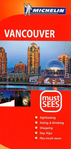 Buy map Vancouver, British Columbia, Must See Guide by Michelin Maps and Guides