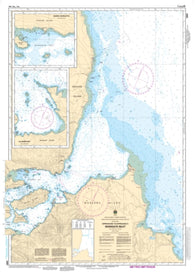 Buy map Approaches to/Approches a Skidegate Inlet by Canadian Hydrographic Service