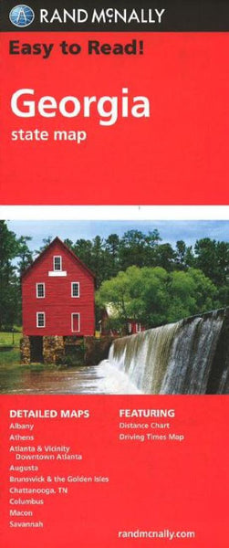 Buy map Georgia by Rand McNally