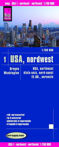 Buy map United States, Northwest by Reise Know-How Verlag