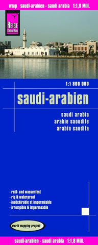 Buy map Saudi Arabia by Reise Know-How Verlag