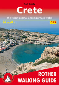 Buy map Crete, Walking Guide by Rother Walking Guide, Bergverlag Rudolf Rother