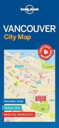 Buy map Vancouver City Map by Lonely Planet Publications