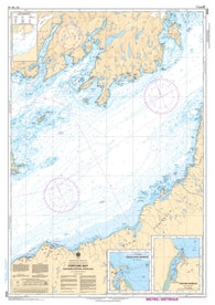 Buy map Fortune Bay - Souther Portion/Partie Sud by Canadian Hydrographic Service
