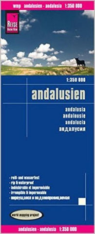 Buy map Andalusia, Spain by Reise Know-How Verlag