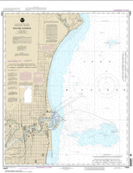 Buy map Racine Harbor (14925-23) by NOAA