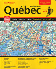 Buy map Que?bec Back Road Atlas (French/English Edition) by Canadian Cartographics Corporation