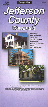Buy map Jefferson County, Wisconsin by The Seeger Map Company Inc.
