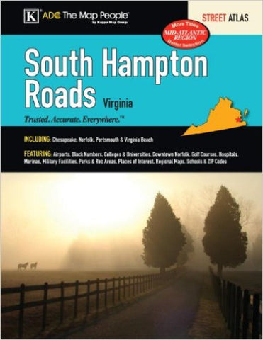 Buy map South Hampton Roads, Virginia, Street Atlas by Kappa Map Group