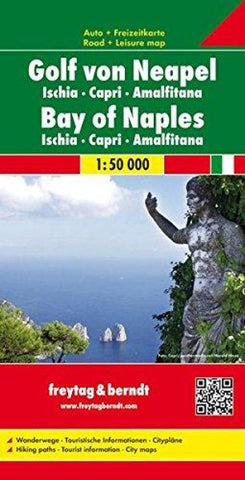 Buy map Italy, Bay of Naples by Freytag-Berndt und Artaria