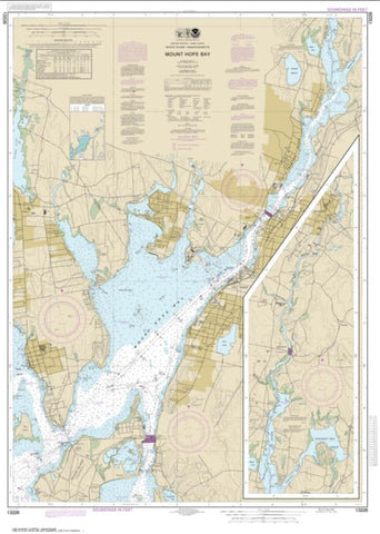 Buy map Mount Hope Bay (13226-8) by NOAA