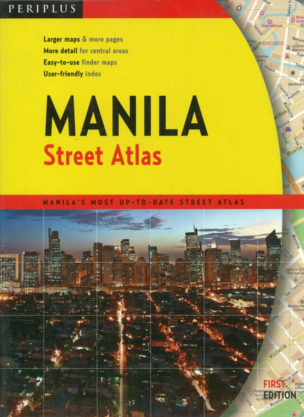 Buy map Manila, Philippines by Periplus Editions