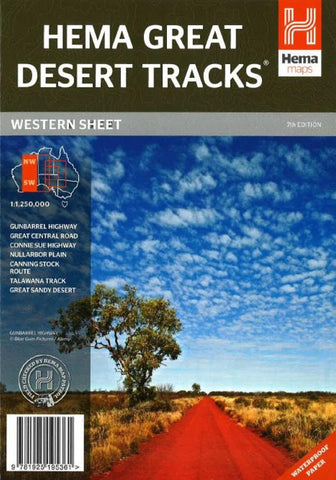 Buy map Australia, Western, Great Desert Tracks, 7th edition by Hema Maps