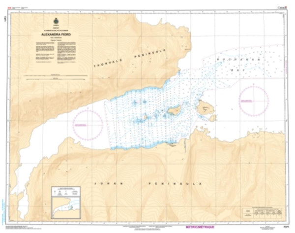 Buy map Alexandra Fiord by Canadian Hydrographic Service