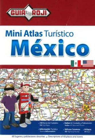 Buy map Mexico Mini Tourist and Road Atlas by Guia Roji