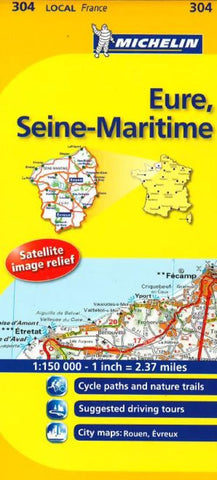 Buy map Eure, Seine Maritime (304) by Michelin Maps and Guides