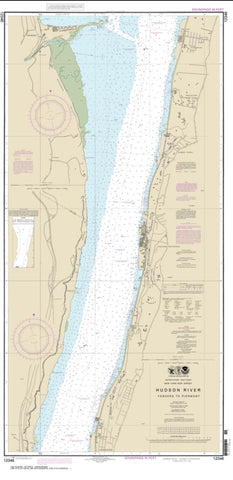Buy map Hudson River Yonkers to Piermont (12346-12) by NOAA