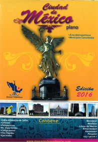 Buy map Mexico City, Mexico, 2016 Edition Metropolitan Area Map by Ediciones Independencia