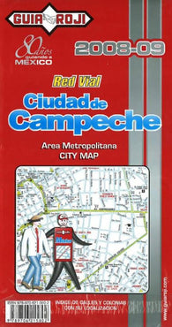 Buy map Campeche, Mexico by Guia Roji