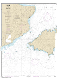 Buy map Unalaska Island Umnak Pass and approaches (16513-6) by NOAA