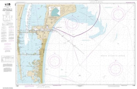 Buy map Approaches to Port Canaveral (11481-9) by NOAA