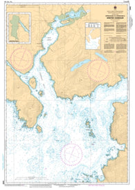 Buy map Approaches to/Approches a Winter Harbour by Canadian Hydrographic Service