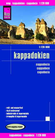 Buy map Cappadocia, Turkey by Reise Know-How Verlag