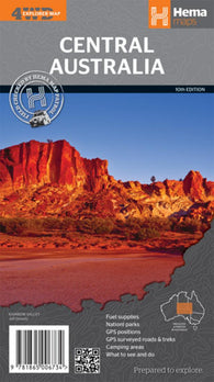 Buy map Central Australia, Australia by Hema Maps