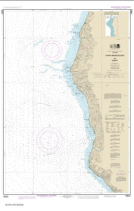 Buy map Cape Mendocino and vicinity (18623-12) by NOAA