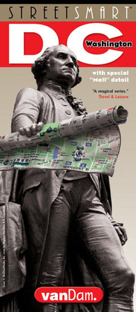 Buy map Washington DC StreetSmart by VanDam