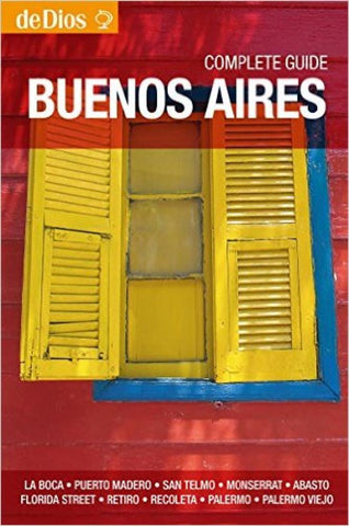 Buy map Buenos Aires, Argentina, Complete Guide by deDios