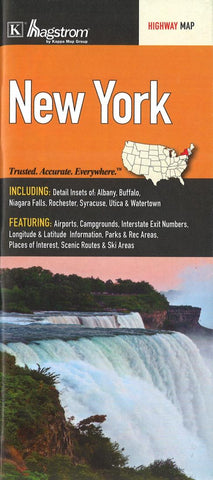 Buy map New York State Highway Map by Kappa Map Group
