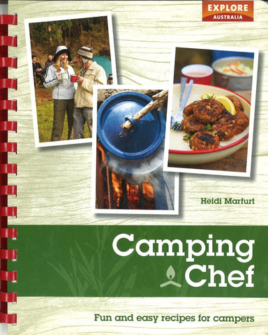 Buy map Camping Chef: Fun and Easy Recipes for Campers by Universal Publishers Pty Ltd