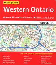 Buy map Western Ontario Street Atlas by Canadian Cartographics Corporation